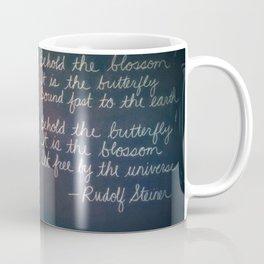 Rudolf Steiner Quote Coffee Mug