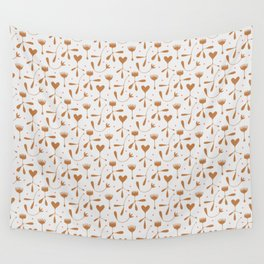 Autumn Seed Wall Tapestry