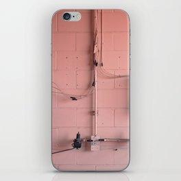 Rose Metal iPhone Skin