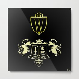 Wayne Enterprises Metal Print