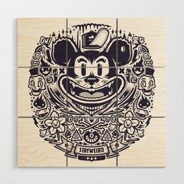 Stay Weird Wood Wall Art
