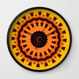 Flower Wall Clock