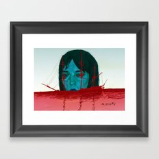 The Sinking Ship IS My Lifeboat. Framed Art Print