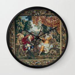 Classical Tapestry design Wall Clock