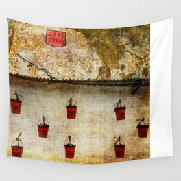 Gibraltar Fire Buckets Wall Tapestry