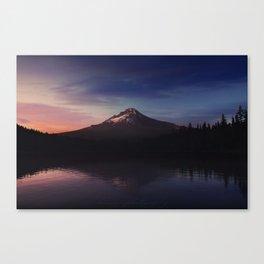 Mount Hood over Trillium Lake Canvas Print