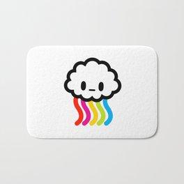 Rainbow rain Bath Mat