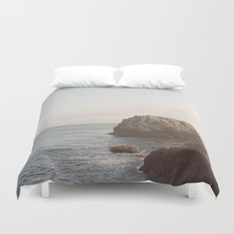 A Break From the Pack in Big Sur Duvet Cover