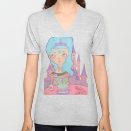 Birthday Girl Unisex V-Neck