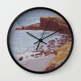 Stone and Sea Wall Clock