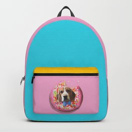 Doggy Donut Backpack