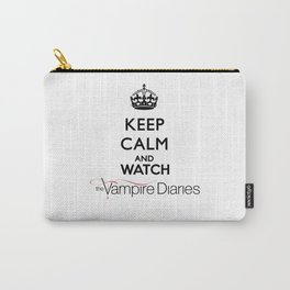Keep Calm And Watch The Vampire Diaries Carry-All Pouch