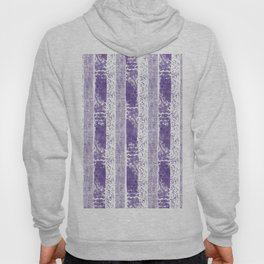 Lilac watercolor paint brushstrokes confetti stripes Hoody