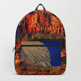 Picture Grand Canyon Park USA Arizona Cliff Nature canyons Mountains Parks Sunrises and sunsets Rock Crag Canyon mountain park sunrise and sunset Backpack