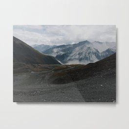 Brooks Range, Atigun Pass, Dalton Highway, Alaska Metal Print