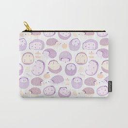 Happy Hedgies - Kawaii Hedgehog Doodle Carry-All Pouch