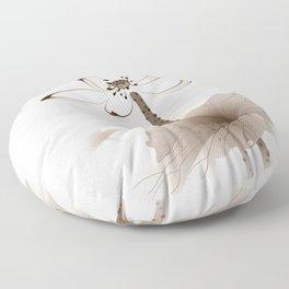 Oriental Lotus 003 Floor Pillow