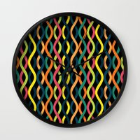 dna Wall Clocks featuring DNA by Shkvarok