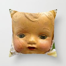 I'm Not Scary Throw Pillow