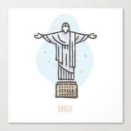 Brazil - Christ the Redeemer Canvas Print