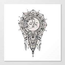 Sun Love Canvas Print