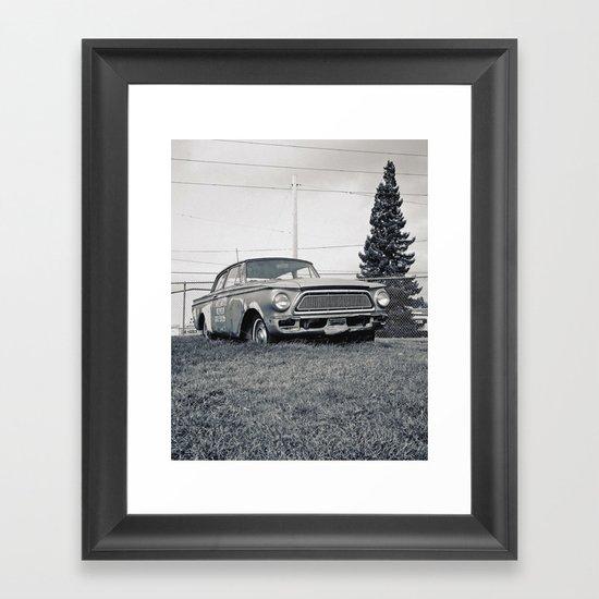 Rusty Rambler Framed Art Print