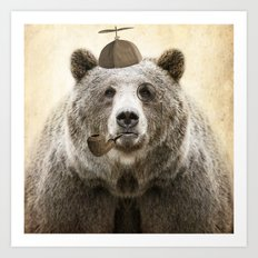 Bear Necessities Art Print
