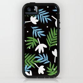black, black iPhone Case