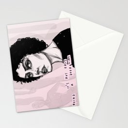 Even smiling makes my face ache! Stationery Cards