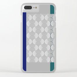 Lace Shapes 01 Geometric Minimalist Graphic Clear iPhone Case