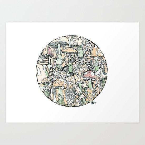 mushaboom Art Print