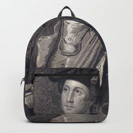 Vintage George Washington Portrait Backpack