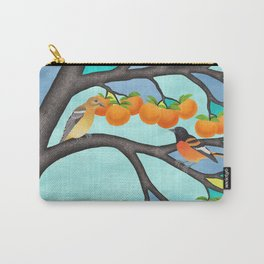 B. orioles in the stained glass tree Carry-All Pouch