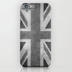 Union Jack  Vintage 3:5 Version in grayscale Slim Case iPhone 6s