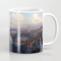 yosemite Mugs featuring Yosemite by Leah Flores