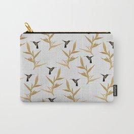 Hummingbird & Flower II Carry-All Pouch