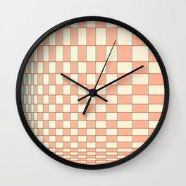 Abstraction_NEW_ILLUSION_PATTERN_Minimalism_001 Wall Clock