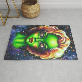 Iconic Alien Women: Marilyn Rug
