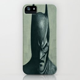 Caped Crusader  iPhone Case
