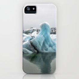 Jokulsarlon Glacier Lagoon Icebergs iPhone Case