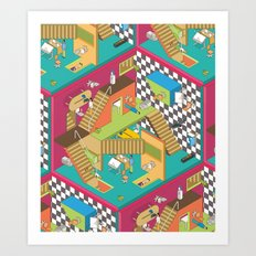 complex business Art Print