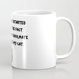Cat Soulmate Coffee Mug