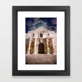 Color - Alamo, San Antonio, Texas Framed Art Print