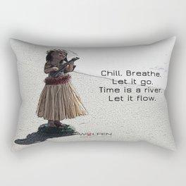 Wolfen Hula Babe Rectangular Pillow