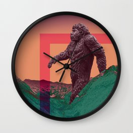 YETI JR Wall Clock