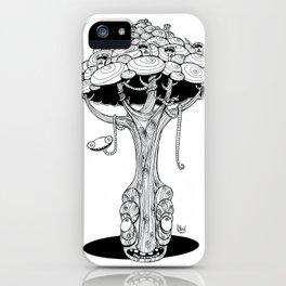 The alien tree iPhone Case