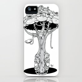 The alien tree iPhone Case