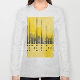 Yellow Abstract Passion Long Sleeve T-shirt
