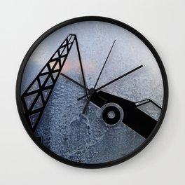 Urban Abstract 99 Wall Clock