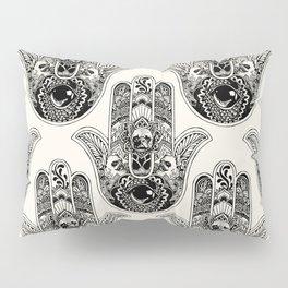 Hamsa Hand French Bulldog Pillow Sham